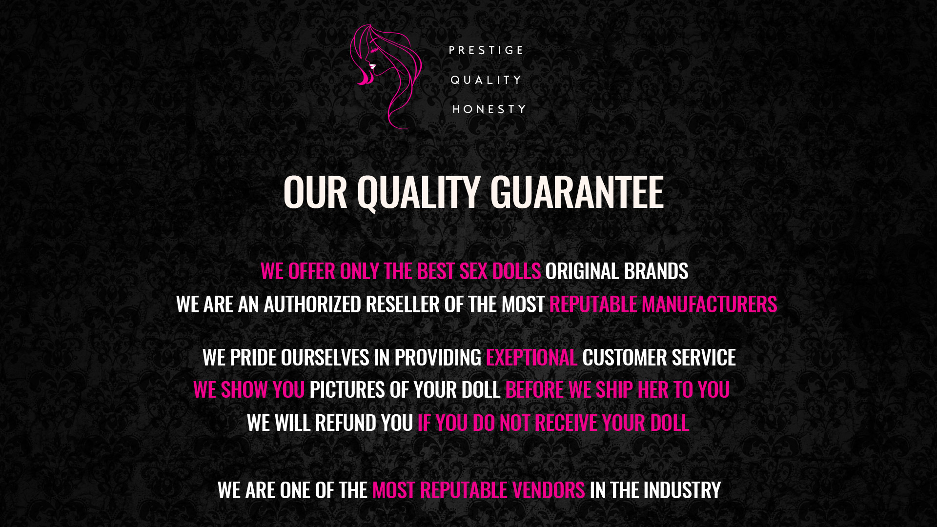 Our quality guarantee